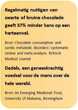 Tekstkader chocoladedadels